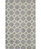 RugStudio presents Momeni Bliss Bs-11 Grey Hand-Knotted, Better Quality Area Rug