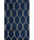 RugStudio presents Momeni Bliss Bs-12 Navy Hand-Knotted, Better Quality Area Rug