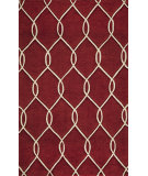 RugStudio presents Rugstudio Sample Sale 87543R Red Hand-Tufted, Better Quality Area Rug