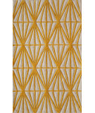 RugStudio presents Rugstudio Sample Sale 87546R Gold Hand-Tufted, Better Quality Area Rug