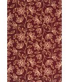 RugStudio presents Momeni Capri CR-04 Burgundy Machine Woven, Best Quality Area Rug