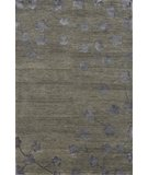 RugStudio presents Rugstudio Sample Sale 45493R Charcoal Hand-Knotted, Better Quality Area Rug