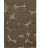 RugStudio presents Famous Maker Circular 91920 Earth Machine Woven, Good Quality Area Rug