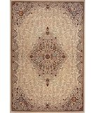 RugStudio presents Rugstudio Sample Sale 45527R Ivory Machine Woven, Good Quality Area Rug