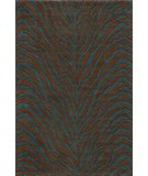 RugStudio presents Momeni Deco DC-16 Teal Blue Machine Woven, Good Quality Area Rug