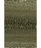 RugStudio presents Momeni Delhi DL-33 Green Hand-Tufted, Better Quality Area Rug
