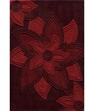 RugStudio presents Momeni Delhi DL-40 Red Hand-Tufted, Better Quality Area Rug