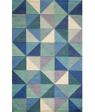 RugStudio presents Momeni Delhi Dl-44 Blue Hand-Tufted, Better Quality Area Rug