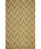 RugStudio presents Momeni Delhi Dl-48 Yellow Hand-Tufted, Better Quality Area Rug