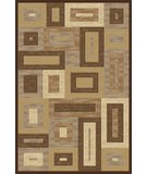 RugStudio presents Momeni Dream DR-02 Brown Machine Woven, Better Quality Area Rug