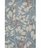 RugStudio presents Momeni Dunes DUN10 Blue Hand-Tufted, Good Quality Area Rug