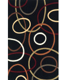 RugStudio presents Momeni Elements EL-09 Black Machine Woven, Good Quality Area Rug