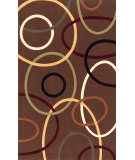 RugStudio presents Momeni Elements EL-09 Brown Machine Woven, Good Quality Area Rug