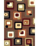 RugStudio presents Momeni Elements EL-10 Brown Machine Woven, Good Quality Area Rug
