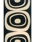 RugStudio presents Rugstudio Sample Sale 45628R Black Machine Woven, Good Quality Area Rug
