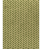 RugStudio presents Momeni Geo Geo-2 Green Hand-Hooked Area Rug
