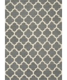 RugStudio presents Momeni Geo Geo-4 Grey Hand-Hooked Area Rug