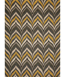 RugStudio presents Rugstudio Sample Sale 87579R Yellow Hand-Hooked Area Rug