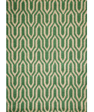 RugStudio presents Momeni Geo Geo12 Green Hand-Hooked Area Rug