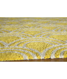 RugStudio presents Momeni Geo Geo15 Yellow Hand-Hooked Area Rug