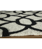 RugStudio presents Momeni Geo Geo17 Black Hand-Hooked Area Rug