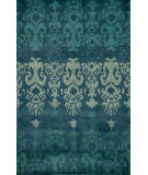 RugStudio presents Rugstudio Sample Sale 65848R Blue Hand-Tufted, Good Quality Area Rug