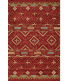 RugStudio presents Momeni Habitat Hb-10 Red Hand-Tufted, Good Quality Area Rug