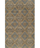 RugStudio presents Momeni Habitat Hb-13 Blue Hand-Tufted, Good Quality Area Rug