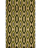 RugStudio presents Momeni Habitat Hb-16 Green Hand-Tufted, Best Quality Area Rug