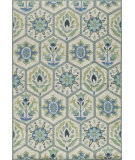 RugStudio presents Momeni Havana Hv-08 Blue Hand-Tufted, Good Quality Area Rug