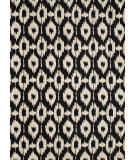 RugStudio presents Rugstudio Sample Sale 87585R Black Hand-Tufted, Good Quality Area Rug