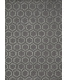 RugStudio presents Momeni Heavenly He-23 Charcoal Hand-Knotted, Good Quality Area Rug