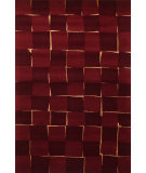 RugStudio presents Momeni Java Ja-02 Wine Hand-Tufted, Best Quality Area Rug