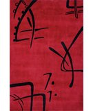 RugStudio presents Momeni Koi KO-06 Red Hand-Tufted, Best Quality Area Rug