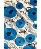 RugStudio presents Rugstudio Sample Sale 45753R Blue Hand-Tufted, Best Quality Area Rug