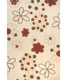 RugStudio presents Momeni Koi KO-08 Ivory Hand-Tufted, Best Quality Area Rug