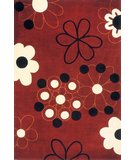 RugStudio presents Rugstudio Sample Sale 45754R Red Hand-Tufted, Best Quality Area Rug
