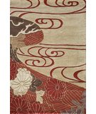 RugStudio presents Momeni Koi KO-15 Red Hand-Tufted, Best Quality Area Rug