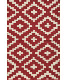 RugStudio presents Momeni Laguna Lg-04 Red Woven Area Rug