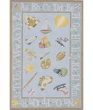 RugStudio presents Momeni Lil Mo Classic LMI-2 Baby Blue Hand-Hooked Area Rug