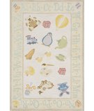 RugStudio presents Momeni Lil Mo Classic LMI-2 Pale Yellow Hand-Hooked Area Rug