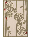 RugStudio presents Momeni Lil Mo Whimsy LMJ-3 Ivory Hand-Tufted, Best Quality Area Rug