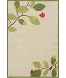 RugStudio presents Momeni Lil Mo Whimsy LMJ-6 Ivory Hand-Tufted, Best Quality Area Rug