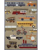 RugStudio presents Momeni Lil Mo Whimsy LMJ-8 Concrete Hand-Tufted, Best Quality Area Rug