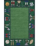 RugStudio presents Momeni Lil Mo Whimsy LMJ-9 Grass Hand-Tufted, Best Quality Area Rug