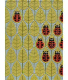 RugStudio presents Momeni Lil Mo Whimsy Lmj13 Lady Bug Red Hand-Tufted, Best Quality Area Rug