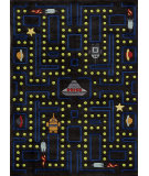 RugStudio presents Momeni Lil Mo Whimsy Lmj14 Arcade Black Hand-Tufted, Best Quality Area Rug