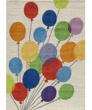 RugStudio presents Momeni Lil Mo Whimsy Lmj16 Multi Balloons Hand-Tufted, Best Quality Area Rug
