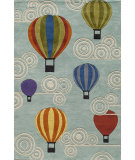 RugStudio presents Momeni Lil Mo Whimsy Lmj20 Multi Hand-Tufted, Good Quality Area Rug