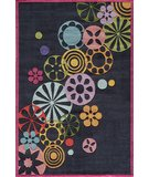 RugStudio presents Momeni Lil Mo Hipster LMT-8 Black/Multi Hand-Tufted, Best Quality Area Rug